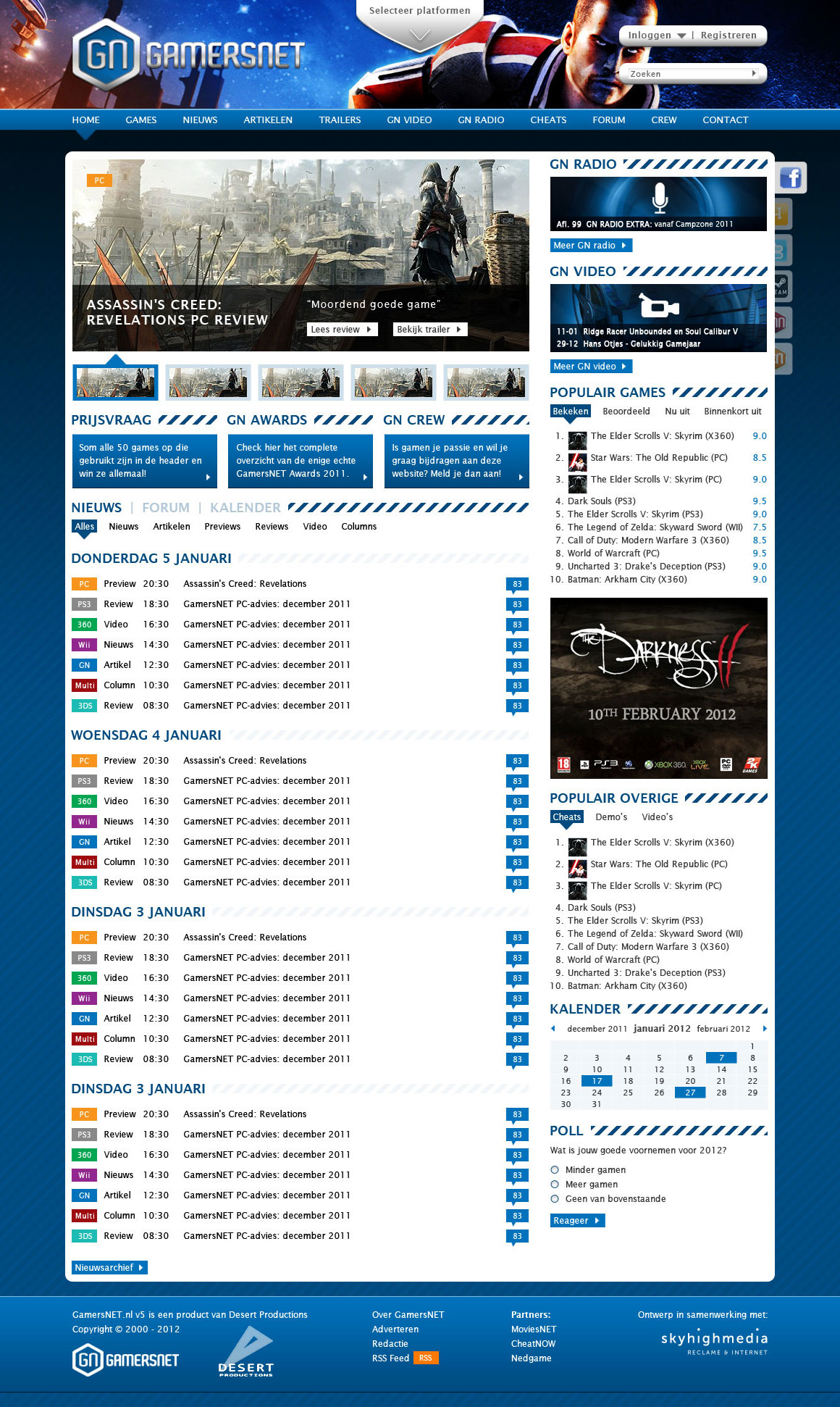 gamersnet_homepage_1.1