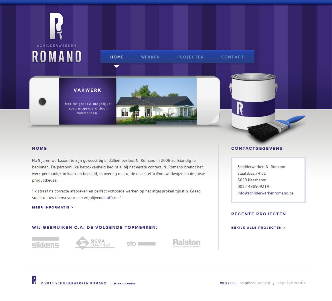 schilderwerkenromano_website
