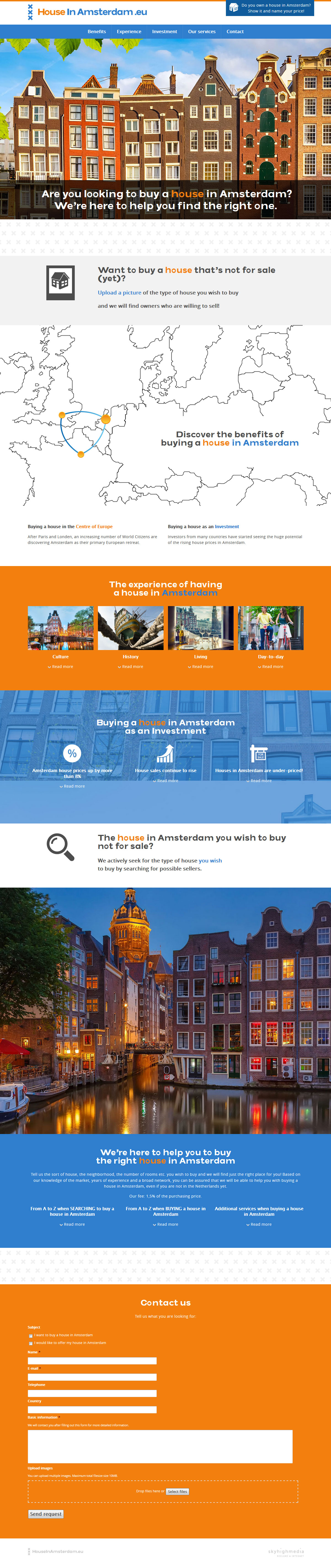 houseinamsterdam_website